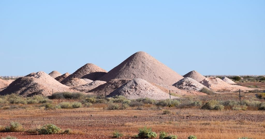 Coober Pedy opal mines - Darwin to Adelaide road trip