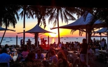 Sunsets at the Darwin Sailing Club