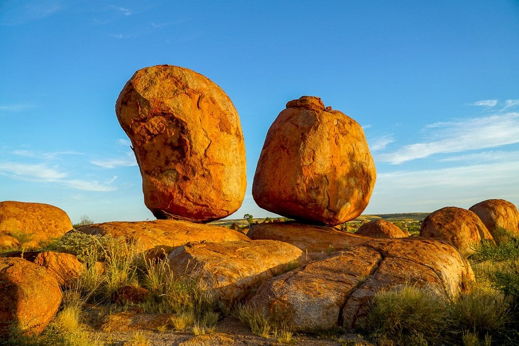 Devils Marbles - Shooting the Golden Hour with a Sony a6000