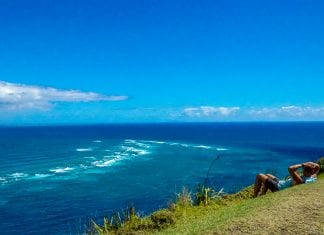 Cape Reinga - where the oceans meet