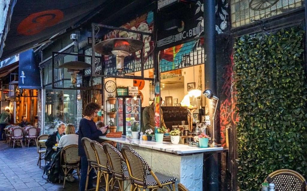 Melbourne's eclectic laneways